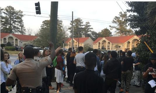Black Students Ejected from Georgia Trump Rally