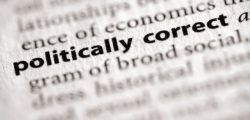 """The dictionary definition of """"politically correct."""""""