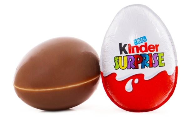 Kinder Eggs Make Their American Debut