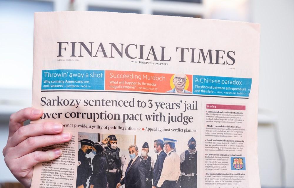 Nicolas Sarkozy Sentenced to 3 Years in Prison, 2 Suspended