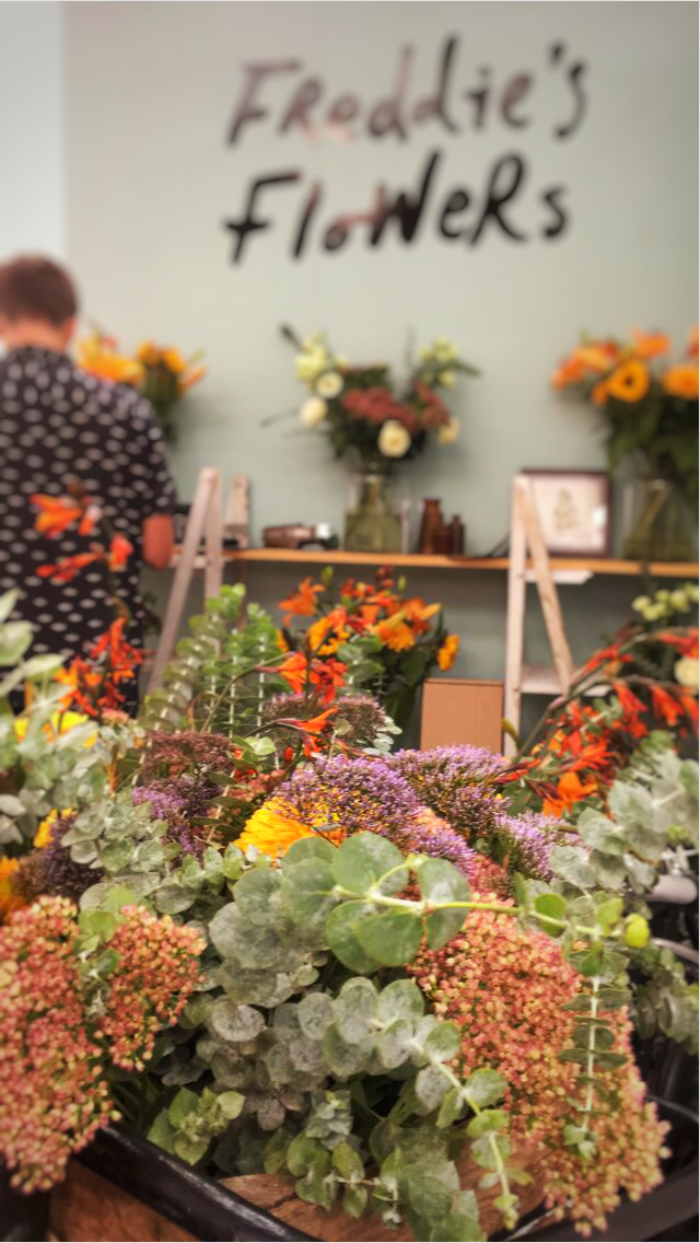 Freddie's flowers at london design fair 2018