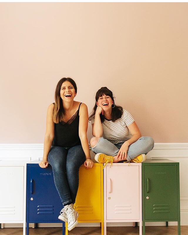 Mustard founders sisters Jess and Becca Stern