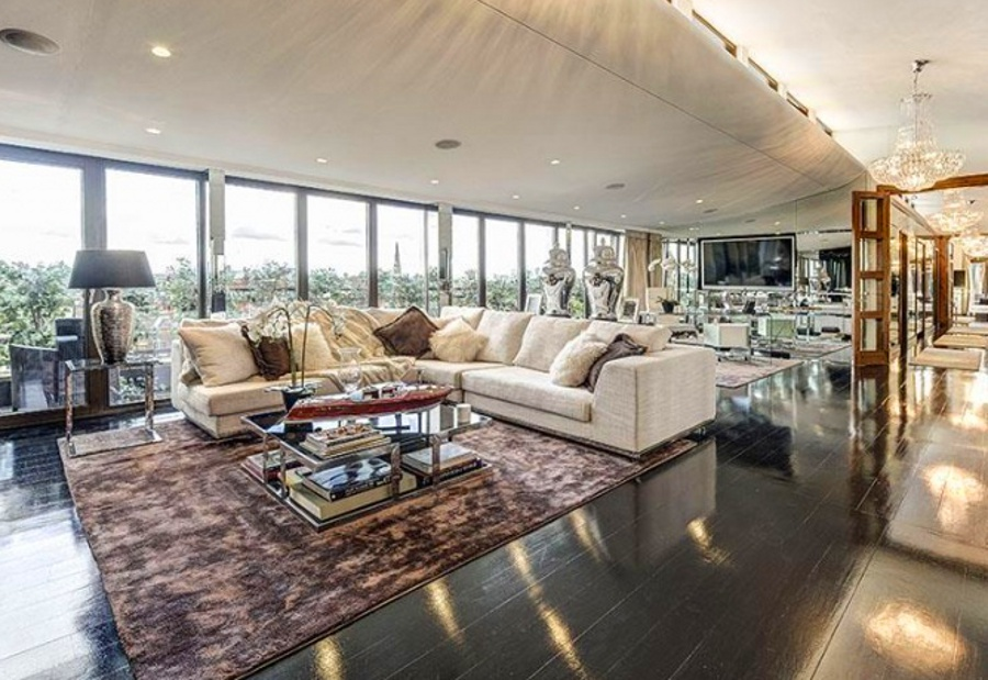Stunning Penthouse Apartment In South Kensington London Industry Standard Design