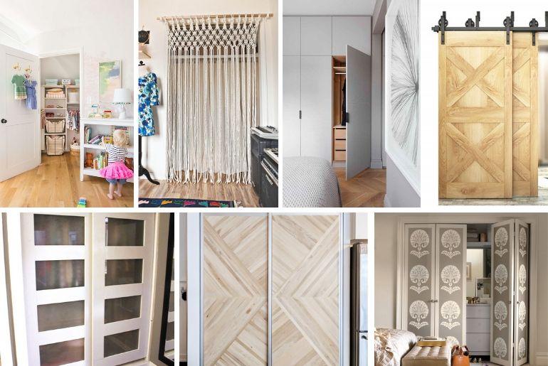 14 Creative Closet Door Ideas That Will Change The Way You Decorate Bedroom