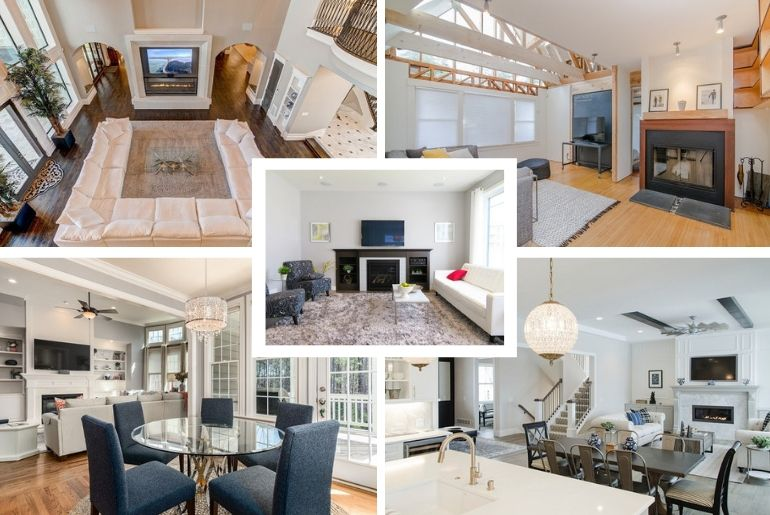 Small Narrow Living Rectangular Living Room Layout With Tv Novocom Top