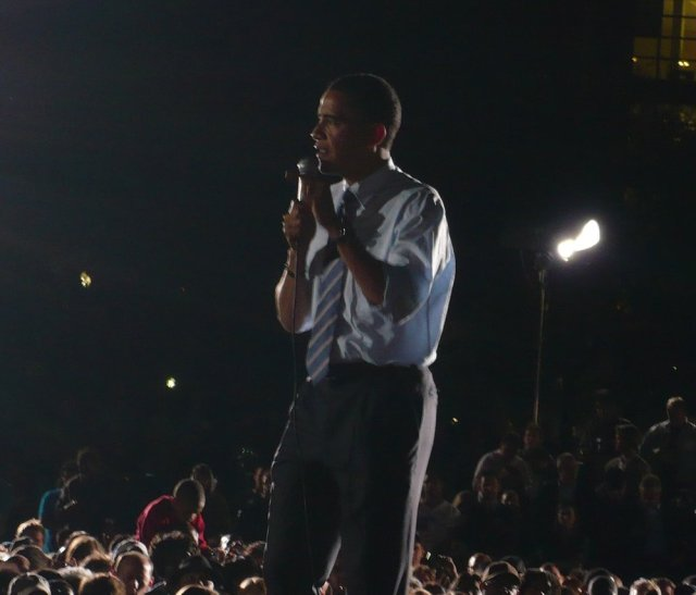 Barack Obama, May 5, 2008 in Indianapolis