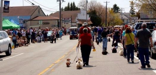 Door County Scottie Rally parade