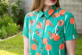 Merrit Makes Adorable Isca Shirt by Marilla Walker