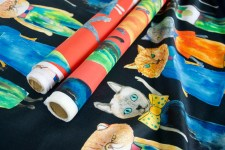 The Story behind the Cats - Mannine Fabric Release