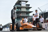 Marco Andretti preparó el auto (FOTO: Chris Owens/INDYCAR)