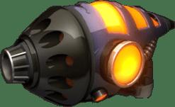 Ratchet and Clank gun, intimidating design