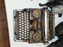 Cool typewriter model