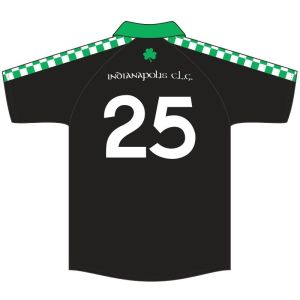9 Irish Brothers Pub Travel Hurling Jersey - Back