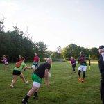 Football training with Eammon Ryan