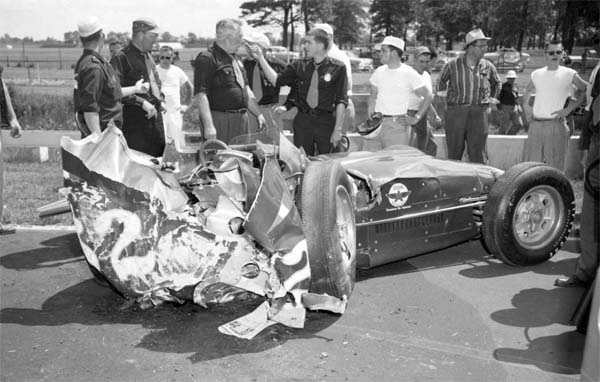 Indianapolis Motor Speedway Deaths 1957 Keith Andrews