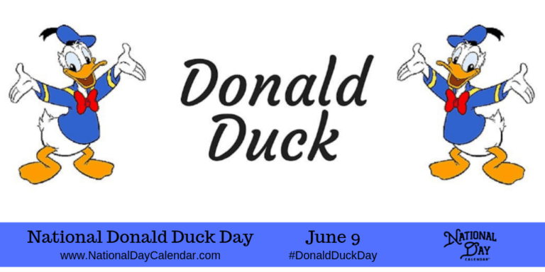 NATIONAL DONALD DUCK DAY