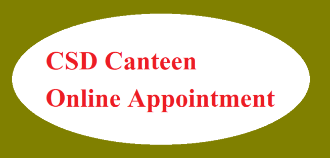 CSD Canteen Appointment State wise.
