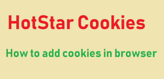 Hotstar cookies may 2021