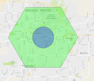 Bloomington Pokemon Go Map