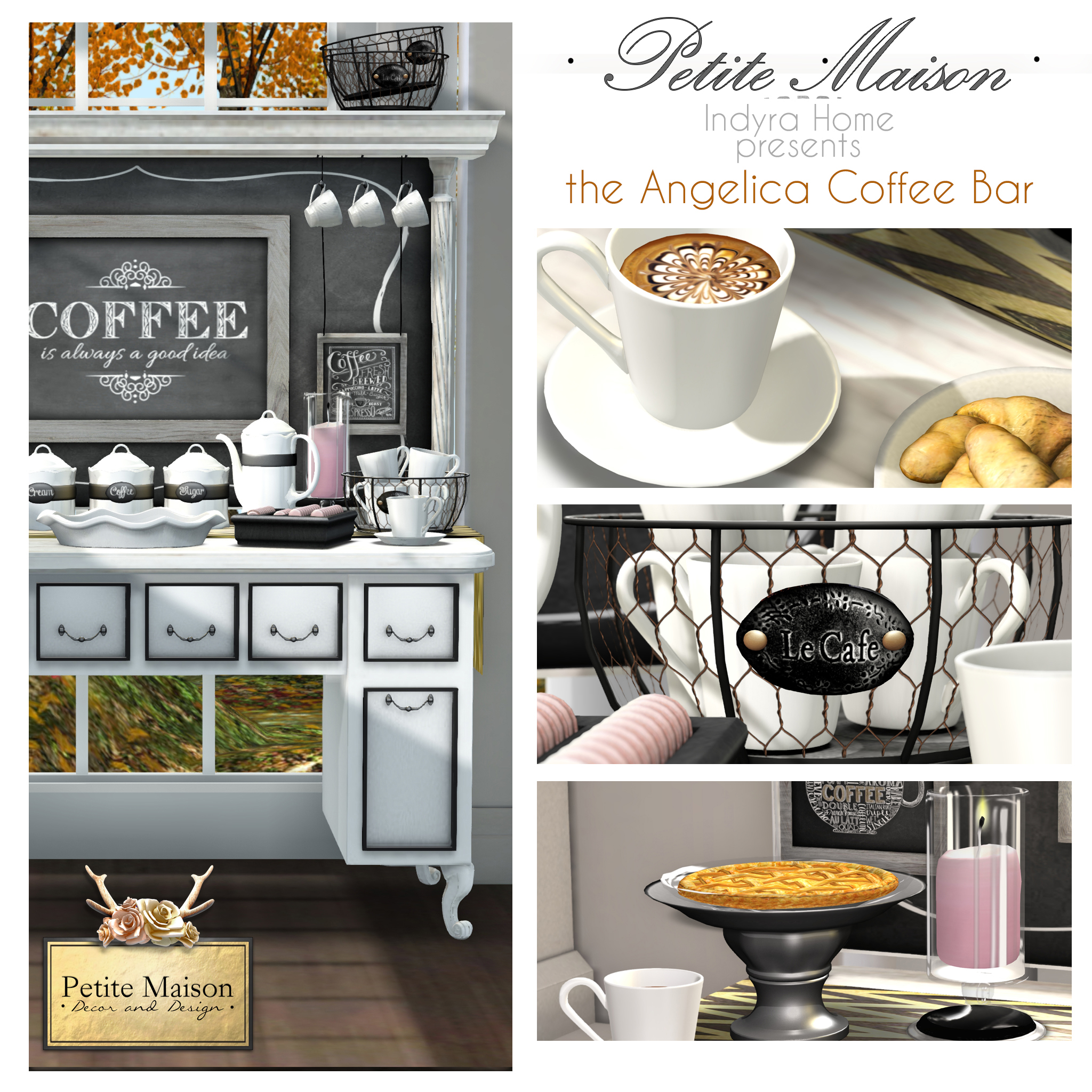 Indyra Special Cozy Home Release The Angelica Coffee