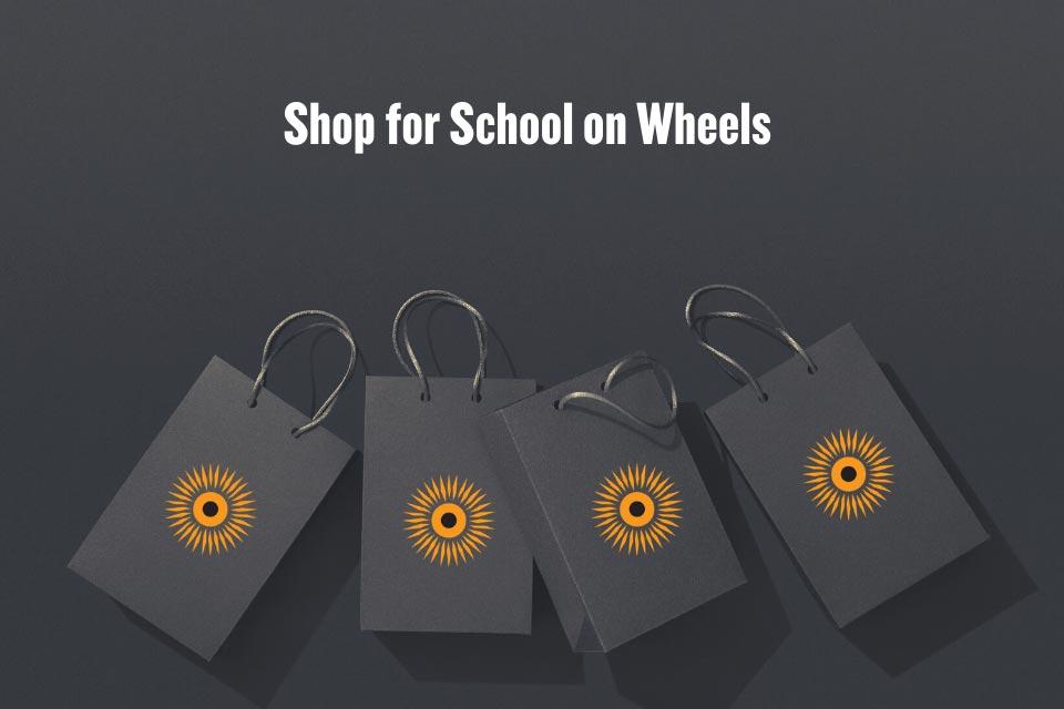 Shop for School on Wheels