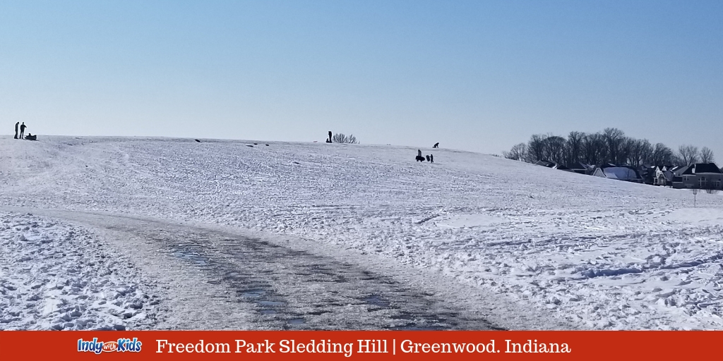 Best Snow Sledding Hills In Indianapolis Bring Your Own Sled