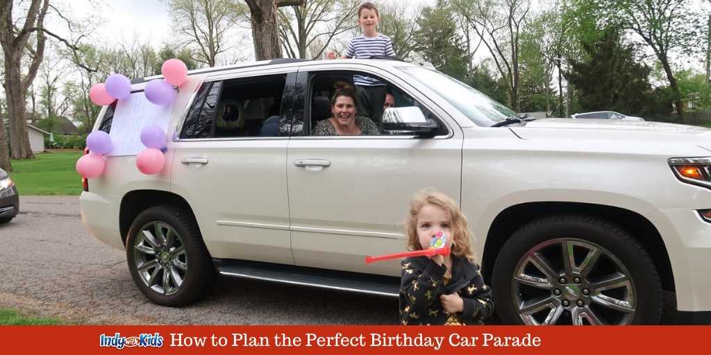 how to plan the perfect birthday parade