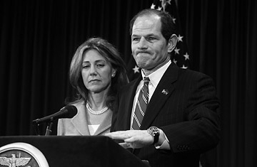 Spitzer with Wife not Hooker