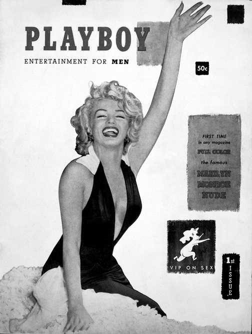 Marilyn in Playboy 1953