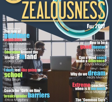 Zealousness 6th issue cover