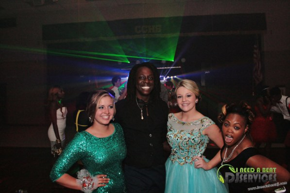 Clinch County High School Homecoming Dance 2014 Mobile DJ Services (173)