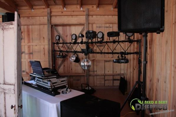 Tasha & Dalton Perry Wedding & Reception Twin Oaks Farms Mobile DJ Services (1)