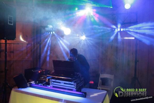 Tasha & Dalton Perry Wedding & Reception Twin Oaks Farms Mobile DJ Services (100)