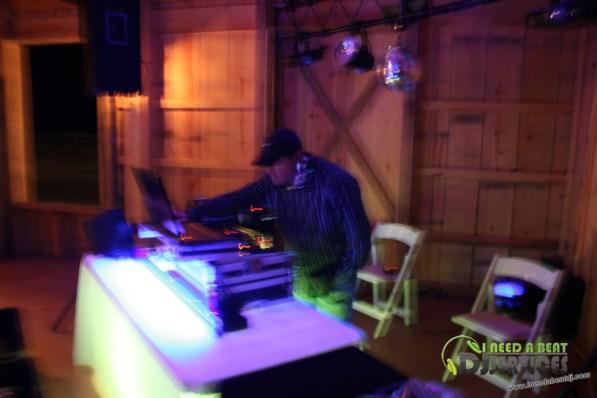Tasha & Dalton Perry Wedding & Reception Twin Oaks Farms Mobile DJ Services (119)