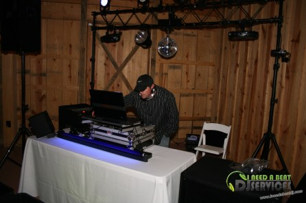 Tasha & Dalton Perry Wedding & Reception Twin Oaks Farms Mobile DJ Services (120)