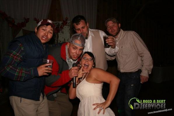Tasha & Dalton Perry Wedding & Reception Twin Oaks Farms Mobile DJ Services (122)