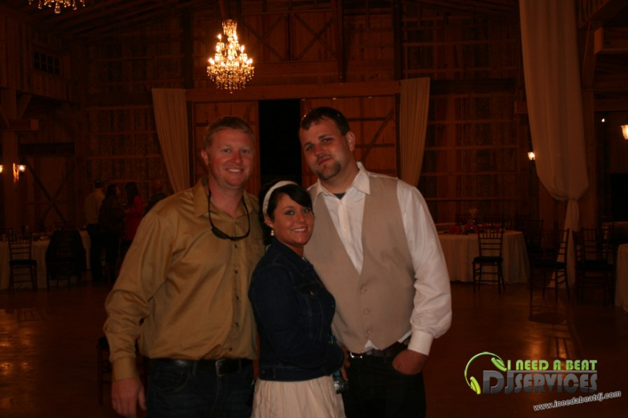 Tasha & Dalton Perry Wedding & Reception Twin Oaks Farms Mobile DJ Services (133)