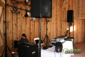 Tasha & Dalton Perry Wedding & Reception Twin Oaks Farms Mobile DJ Services (14)
