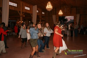 Tasha & Dalton Perry Wedding & Reception Twin Oaks Farms Mobile DJ Services (30)