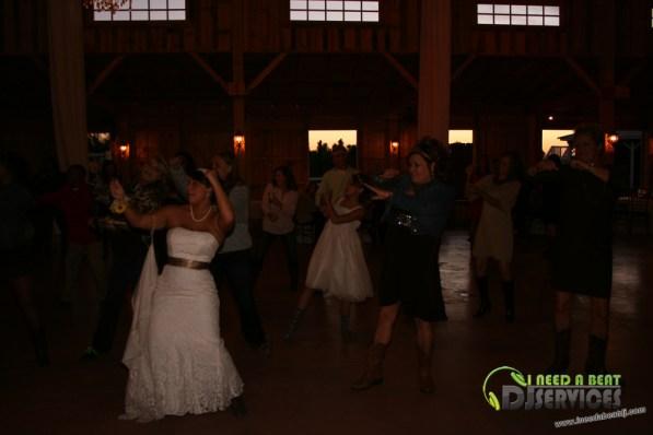 Tasha & Dalton Perry Wedding & Reception Twin Oaks Farms Mobile DJ Services (34)