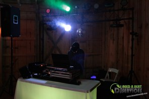 Tasha & Dalton Perry Wedding & Reception Twin Oaks Farms Mobile DJ Services (49)