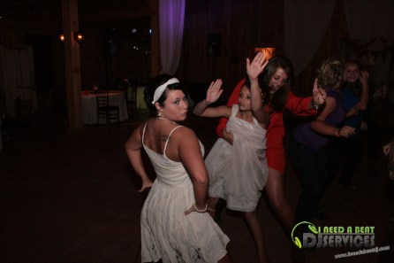 Tasha & Dalton Perry Wedding & Reception Twin Oaks Farms Mobile DJ Services (66)