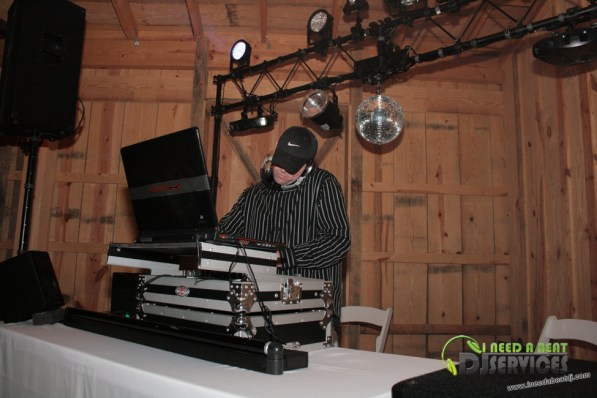 Tasha & Dalton Perry Wedding & Reception Twin Oaks Farms Mobile DJ Services (97)