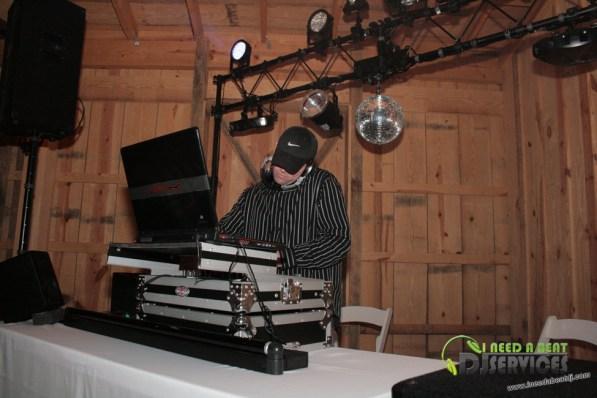 Tasha & Dalton Perry Wedding & Reception Twin Oaks Farms Mobile DJ Services (97)