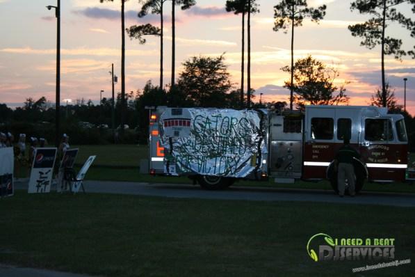 Ware County High School Homecoming Bonfire Pep Rally Mobile DJ Services (34)