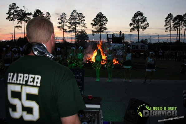 Ware County High School Homecoming Bonfire Pep Rally Mobile DJ Services (56)