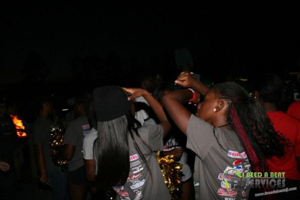Ware County High School Homecoming Bonfire Pep Rally Mobile DJ Services (78)