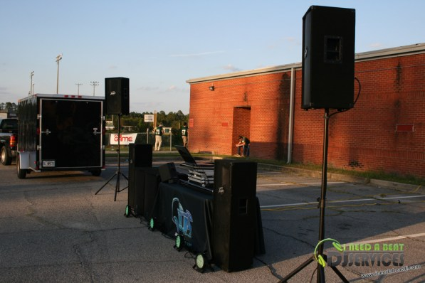 Ware County High School Homecoming Bonfire Pep Rally Mobile DJ Services (9)