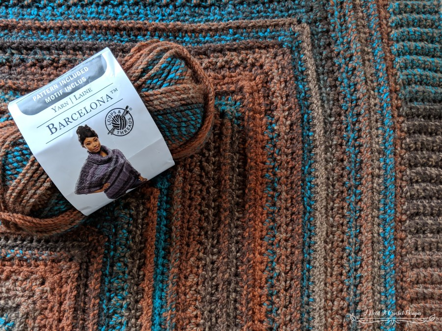 Sarah's Perfect Poncho - Free Crochet Pattern