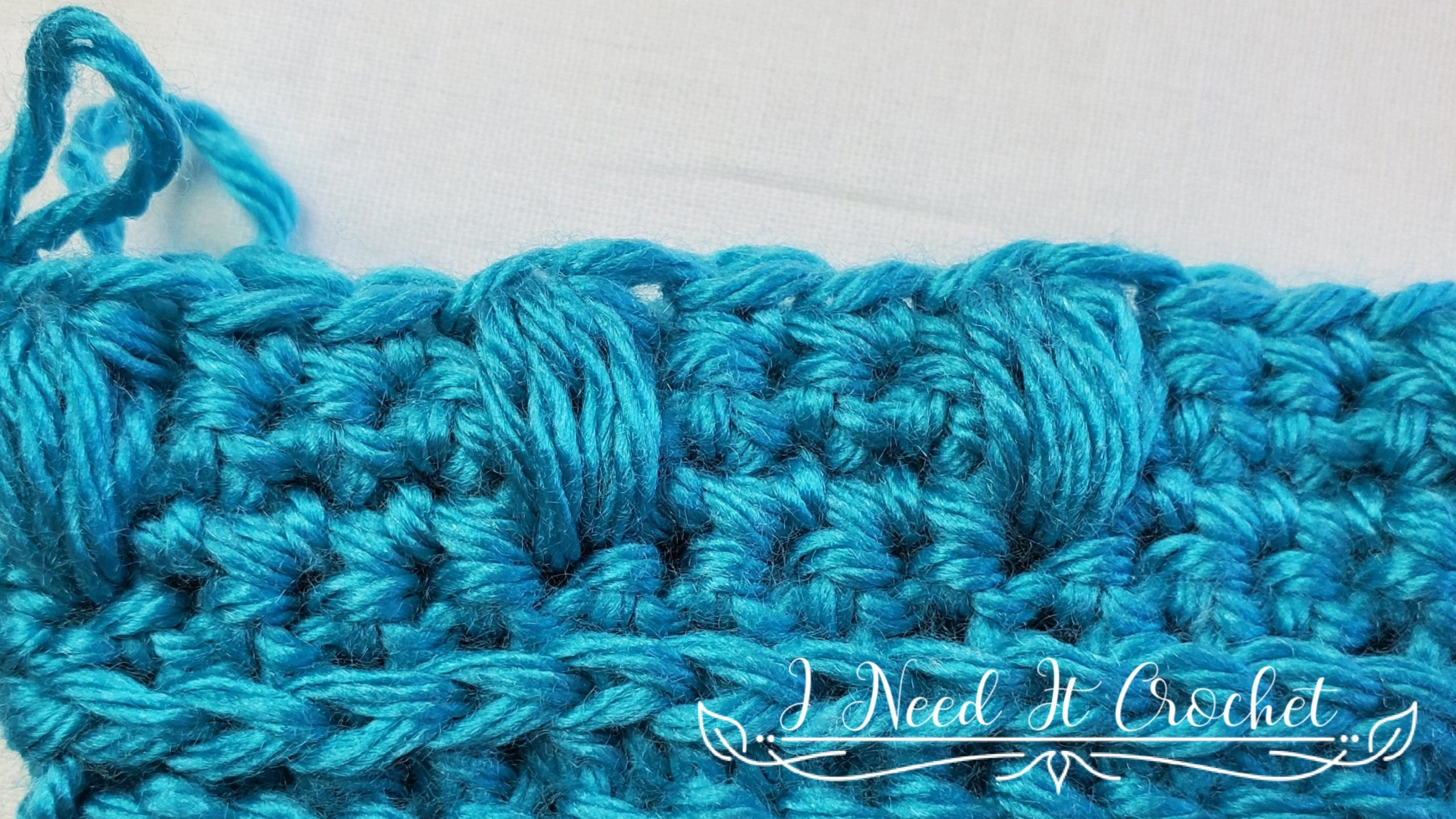 Puff Stitch for Spring Blooms